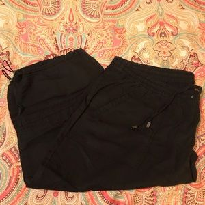 Lane Bryant Capri/Cargo Black Pant (22/24)